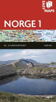 Easy Maps, Norge del 1 - 1:330.000