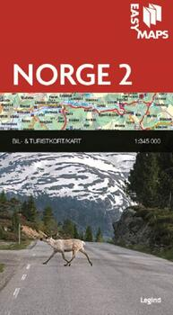 Easy Maps, Norge del 2 - 1:345.000