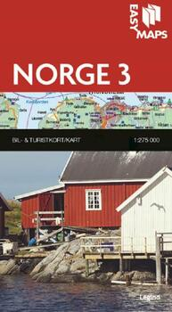 Easy Maps, Norge del 3 - 1:275.000