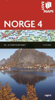 Easy Maps, Norge del 4 - 1:415.000