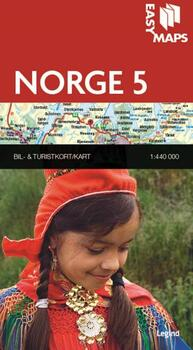 Easy Maps, Norge del 5 - 1:440.000