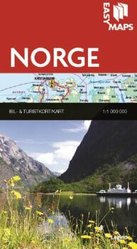 Easy Maps, Norge - 1:1000.000