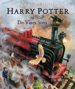 Harry Potter 1: Harry Potter og De Vises Sten Illustreret - J. K. Rowling