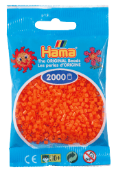HAMA Perler Mini 2000 stk. Orange