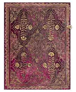 Paperblanks - Fall Filigree - Amaranth - Ultra - 144 sider Ulinieret