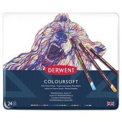 Derwent Farveblyant - Coloursoft 24 stk.