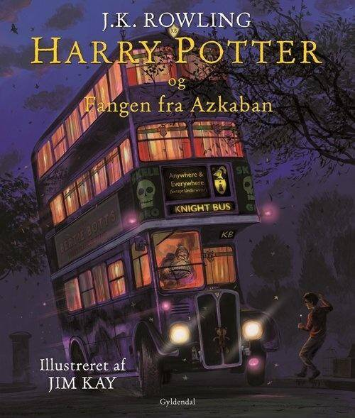 Harry Potter og fangen fra Azkaban  3 - Illustreret - J. K. Rowling