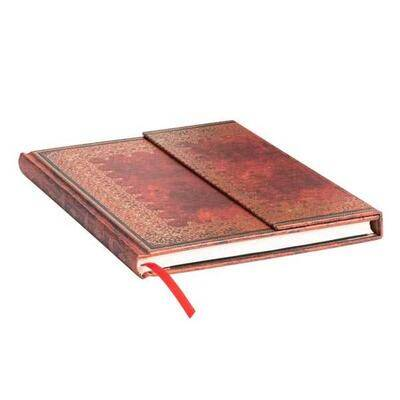 Paperblanks - Old Leather - Foiled Wrap - Ultra - 144 sider ulinieret
