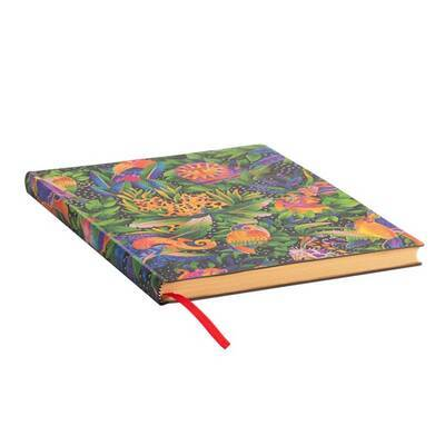 Paperblanks - Whimsical Creations - Junglesong - Softcover - 176 sider Ultra - Ulinieret