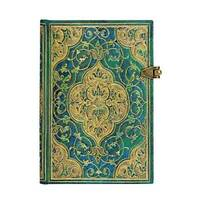Paperblanks - Turquoise Chronicles - Mini - 240 sider - Linieret